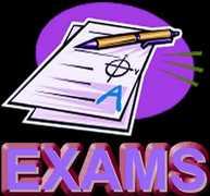 Jan. 2017 S1 Exam Schedule