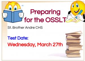 OSSLT info for Mar. 27, 2019