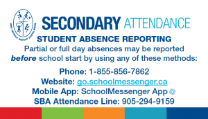 *New* Student Absence Reporting Procedures